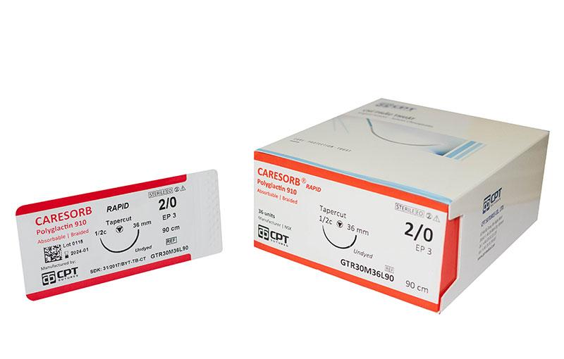 Chỉ CARESORB® Rapid – Polyglactin 910